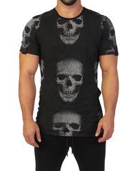 Maceoo Teehlzip Skull - Black