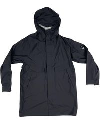 C.P. Company Gore-tex Long Jacket - Blue