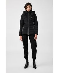 Mackage - Patsy Lightweight Down Jacket With Removable Hood In Black - Women - Lyst