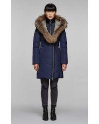 Mackage - Trish Fitted Winter Down Coat - Fur - Lyst