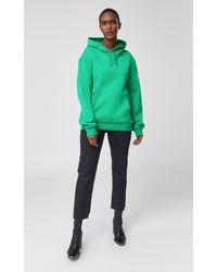 Mackage - Krys Unisex Hoodie With Rainwear Lined Hood In Green - Unisex - Lyst