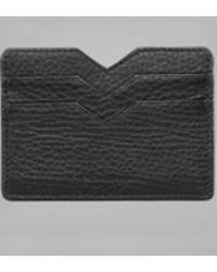 Mackage - Wes Double Sided Leather Cardholder - Lyst