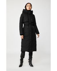 Mackage - Leanne Maxi Length Down Coat In Black - Women - Lyst