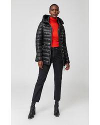 Mackage - Manteau en Duvet Léger avec Capuche en Noir - Lyst