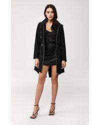 Mackage Franki Rain Jacket With Signature Hood In Black - Women - Xs