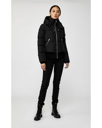 Mackage Aubrie Down Bomber With Removable Hood In Black - Women