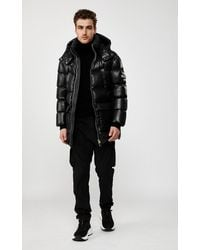 Mackage Chano Down Jacket With Sealed Seams In Black - Men