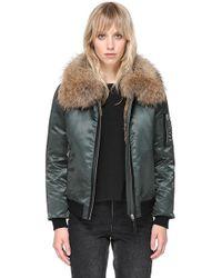 Mackage - Rella-sa Bomber Cut Jacket - Fur - Lyst