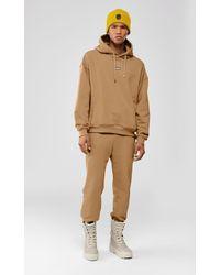 Mackage Phoenix Unisex Fleece Jersey Hoodie In Camel - Unisex - Natural