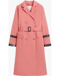 Mackintosh Dearg Tea Rose Bonded Cotton Trench Coat Lr-1027 - Pink
