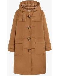 Mackintosh Inverallan Beige Wool & Cashmere Duffle Coat Lm-1090bs - Multicolor