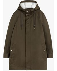 Mackintosh Margie Olive Tech Wool & Mohair Field Parka Gmh-1020 - Green
