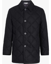 Mackintosh - Black Quilted Wool Jacket Gd-015 - Lyst