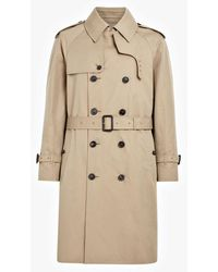 Mackintosh Edinburgh Honey Cotton Trench Coat | Gm-130fd - Brown