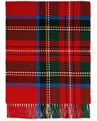 Mackintosh Royal Stewart Scarf - Red