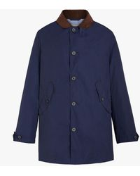 Mackintosh Bloomsbury Navy Nylon Jacket - Blue