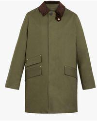 Mackintosh Cullen Field Coat - Green