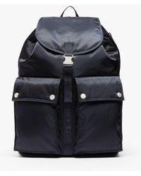 Porter Navy Nylon Porter Backpack - Blue