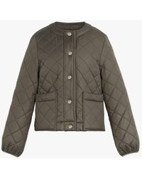 Mackintosh Keiss Taupe Quilted Jacket | Lq-1003 - Green