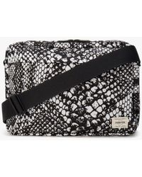 Mackintosh Python X Black Porter Shoulder Bag
