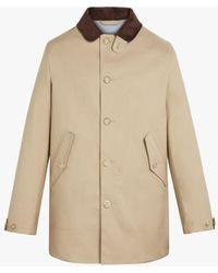 Mackintosh Bloomsbury Fawn Raintec Cotton Jacket - Natural