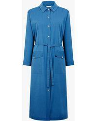 Mackintosh Sky Blue Cotton Dress
