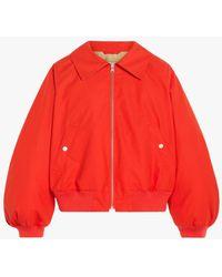 Mackintosh Polla Orange Cotton Bomber Jacket Lm-1071b