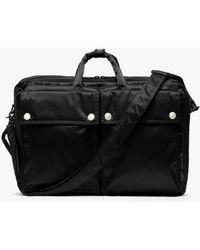 Mackintosh Black Nylon Porter 3-way Briefcase