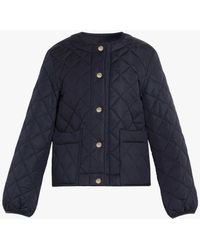 Mackintosh Keiss Navy Quilted Nylon Jacket | Lq-1003 - Blue