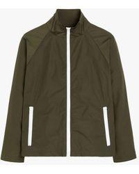 Mackintosh Mairi Khaki Nylon Jacket Lms-062 - Green