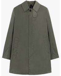 Mackintosh London Military Green Nylon Short Coat Gmc-106