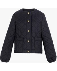 Mackintosh Keiss Quilted Nylon Jacket - Blue