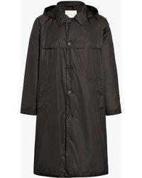 Mackintosh - Black Nylon Hooded Coat - Lyst