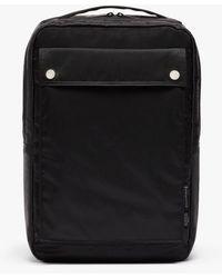 Porter Black Nylon Porter Laptop Backpack