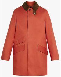 Mackintosh Cullen Jaffa Bonded Cotton Field Coat | Gr-1017d - Orange