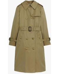 Mackintosh Muirkirk Khaki Cotton Trench Coat Lm-1011f - Green
