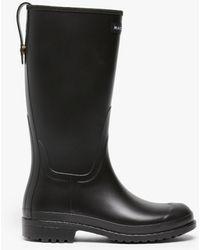 Mackintosh Abington Black Short Wellington Boots Lb-1002