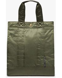 Porter Olive Nylon Tote Bag - Green
