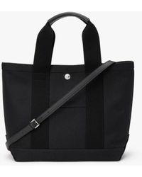 Mackintosh Black Cotton Small Tote Bag Acc-11