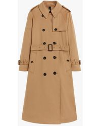 Mackintosh Ally Camel Storm System Wool Trench Coat Lmt-003 - Natural
