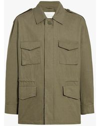 Mackintosh Military Green Cotton Field Jacket