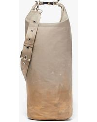Mackintosh Beige Treated Bonded Cotton Dry Bag - Natural