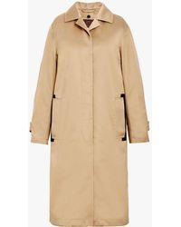 Mackintosh - Beige Denim Coat D-wc008d - Lyst