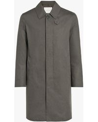Mackintosh - Grey Cotton Storm System Coat - Lyst