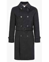 Mackintosh - Charcoal Storm System Wool Trench Coat Gm-004f - Lyst