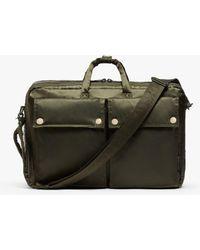 Porter Olive Nylon Porter 3-way Briefcase - Green