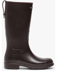 Mackintosh Abington Brown Short Wellington Boots Lb-1002