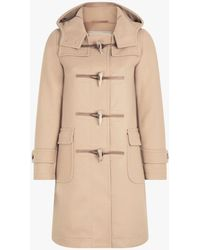 Mackintosh - Beige Wool Duffle Coat - Lyst