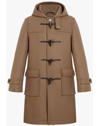 Mackintosh Weir Camel Wool Duffle Coat | Gm-013 - Brown