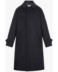 Mackintosh Blackridge Charcoal Wool & Cashmere Oversized Overcoat | Gm-113f - Gray